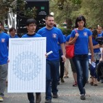 Postdocs at UC Davis delivered a petition to Chancellor Linda Katehi asking for better pay and working conditions.