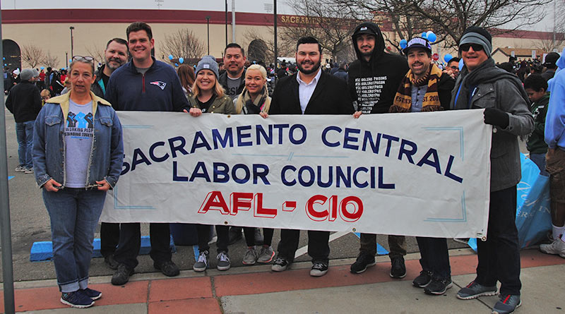 Labor honors MLK's union solidarity in march